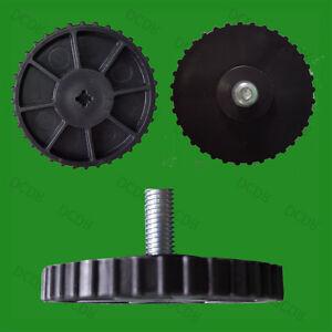 8-x-REGOLABILE-livellamento-piedi-a-pedale-60mm-x-25mm-M8-filettatura-scrivania
