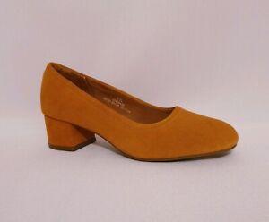 M\u0026S Tan Brown Suede Genuine Leather