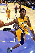 Kobe Bryant LA Lakers MVP Shaq Art Silk Poster 13x20/'/'20x30/'/'