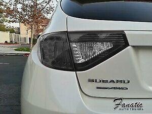 WRX STi Wagon Hatch TailLight PRECUT JDM Reverse Dark S