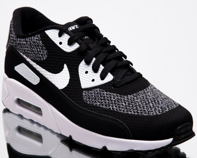 464064bf4f27 Nike Air Max 90 Ultra 2.0 Essential Men New Black Lifestyle Sneakers  875695-019