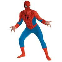 Spider-man Deluxes Spider-man Deluxe Adult Costume - X-large (42-46)