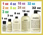 Philosophy Purity Made Simple One-Step Facial Cleanser 3-in-1 2 4 8 16 24 32 oz