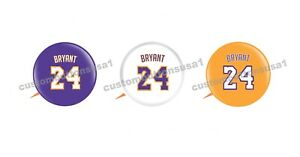 KOBE BRYANT JERSEY BUTTON SET of 3 - Los Angeles Lakers Basketball ...