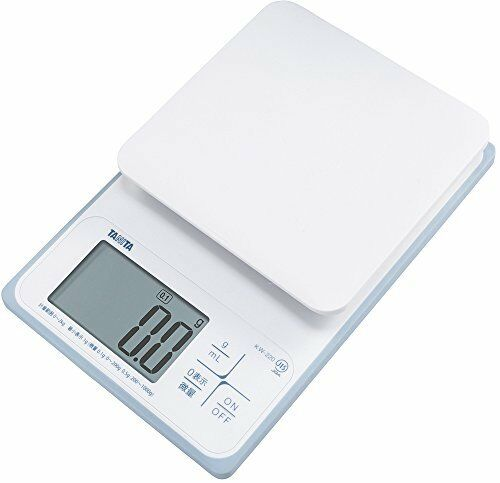 Tanita washable digital cooking scale 2kg up to 0.1g units 200g blanc JAPAN A005