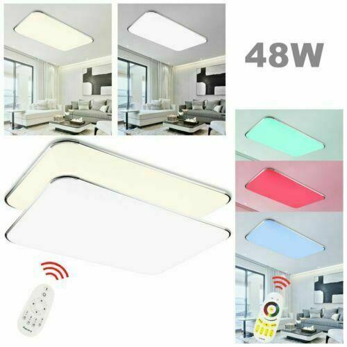 LED Deckenlampe Deckenleuchte 12W-96W Sternen Himmel Panel Deckenbeleuchtung