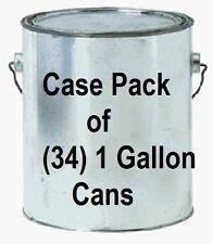 34 ea true value empgl 1 gallon empty lined paint cans w lids