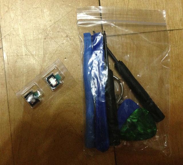 3X Earpiece Speaker Replacement Part + Repair Tools For iPhone 4