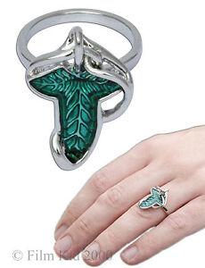 Elven-Leaf-Brooch-RING-of-Power-Hobbit-LOTR-Lord-Of-The-Rings-Legolas-Aragon