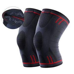 f0676e755c Image is loading Kuangmi-Knee-Brace-Compression-Sleeve-Support -Running-Jogging-