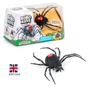 Details About ZURU ROBO ALIVE SPIDER Creepy Crawlies Robotic Kids Birthday Christmas NEW Gift
