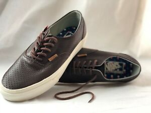 e56614eb9c Vans Era Decon Leather Emboss- Seal Brown Men s 7 757969360927