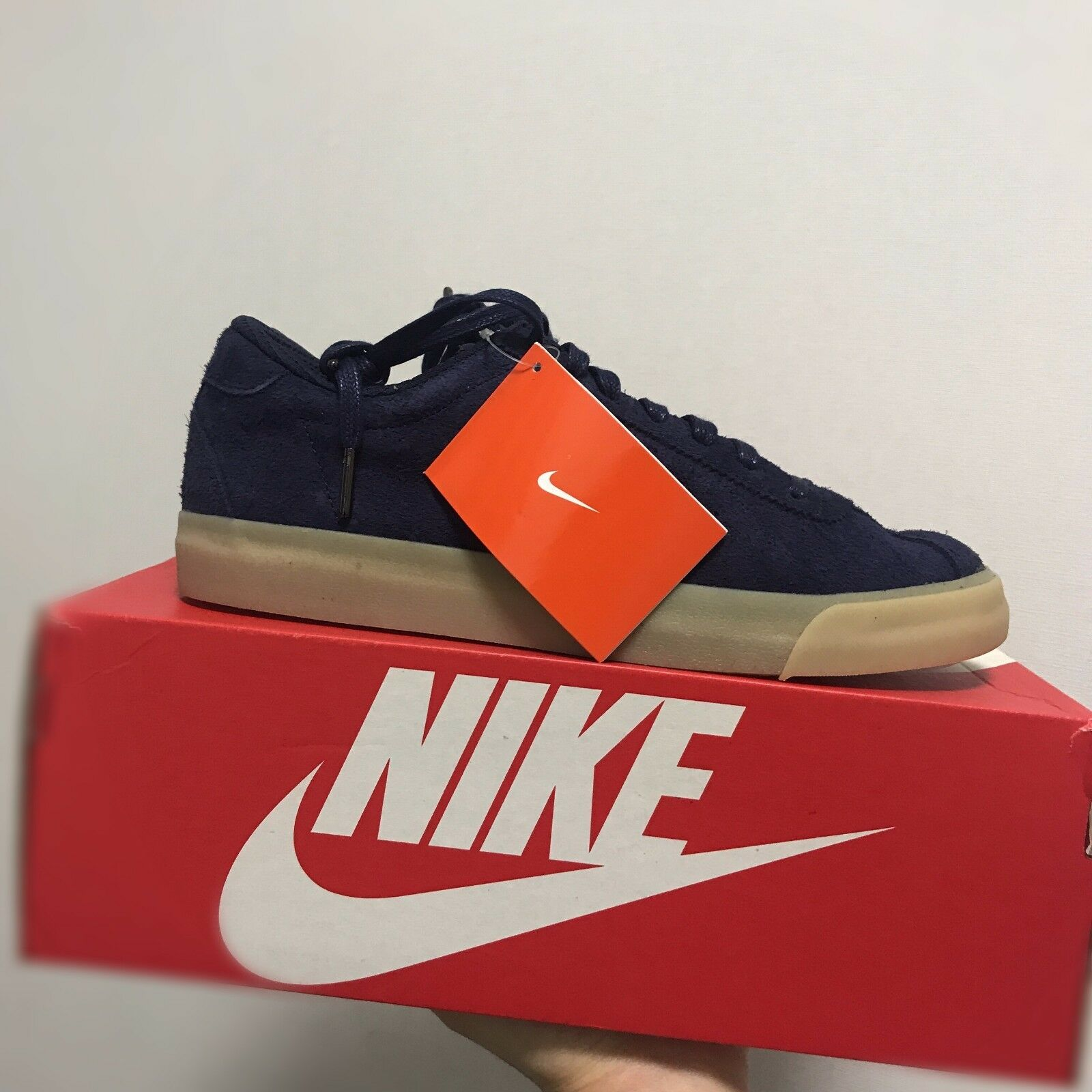 Nike Match Classic Suede Classic shoes Navy 844611-400 Size 8-10