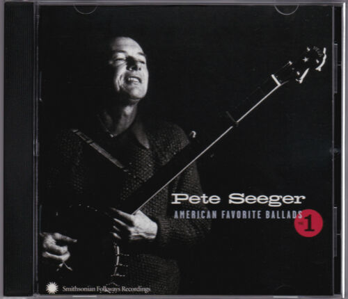 1 of 1 - Pete Seeger - American Favorite Ballads 1 - CD (SFW CD 40150 2002 Smithsonian)