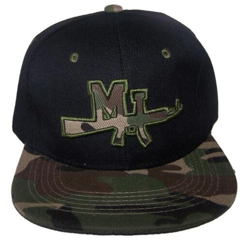 AK 47 MI Military Style Flat Brim Snap Back Baseball Caps Embroidered  7506AK ^*