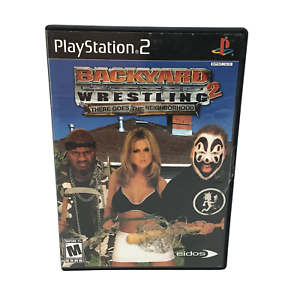 PlayStation 2: Backyard Wrestling 2 Game/ Video Game **USED**