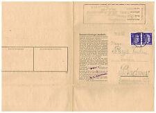1943 Germany Auschwitz Concentration Camp Cover to Budweis BM KZ Miloslav Reys