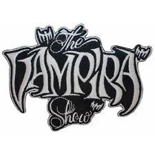 """The Vampira Show"" Horror Plan 9 Kreepsville Embroidered Iron On Applique Patch"