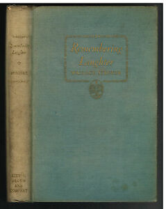 Remembering-Laughter-by-Wallace-Stegner-1937-1st-Ed-Rare-Vintage-Book