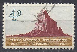 Estados-unidos-sello-con-sello-4c-new-mexico-Statehood-1912-1965-alrededor-del-sello-1809