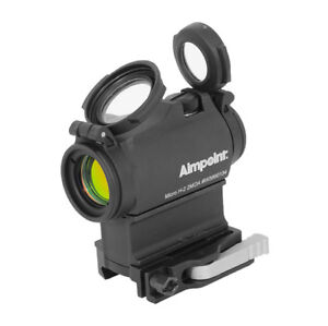 New 2018 Batch Aimpoint Micro H-2 H2 2MOA Red Dot Sight with Mount 200185