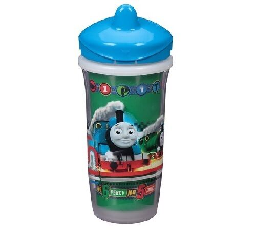 Playtex Sipsters Blue Thomas /& Friends Stage 3 Insulated Spout 9oz Sippy Cup
