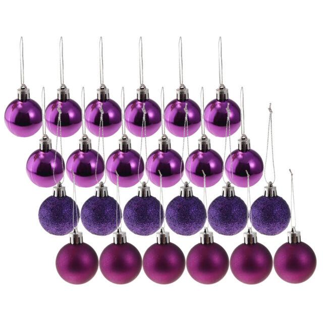Klar Weihnachtskugeln Plastik Handwerk Ball Transparent 10x Dekoration