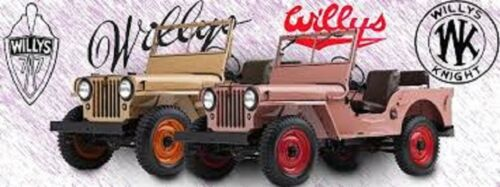 Handbremsbacken Willys Overland Jeep CJ2a CJ3a Belege Hand Bremse 1946-52
