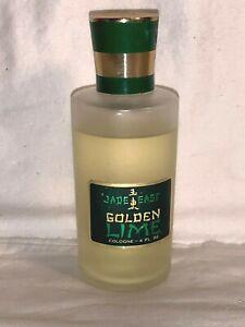 Vintage-Swank-JADE-EAST-GOLDEN-LIME-Cologne-Splash-Men-039-s-4-oz-bottle-90-FULL