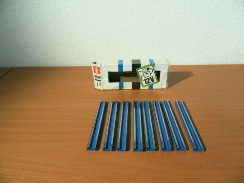 Verkaufe Lego 750 Classic 8 gerade Stromleitschienen für 12 Volt Eisenbahn