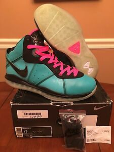 promo code b5590 9db6b Image is loading Nike-Air-Lebron-James-8-VIII-South-Beach-