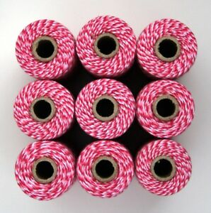 BAKERS-TWINE-TWO-TONE-PINK-WHITE-ONE-100m-roll-12ply-gift-wrapping