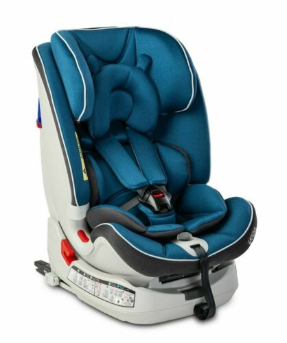 Caretero Yoga Navy Autositz Kindersitz 0-25 kg Gruppe 0+,I,II ISOFIX Top-Tether