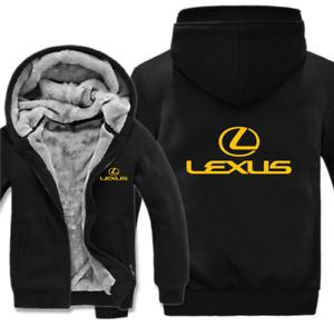 Chaud épaissir Lexus Toyota Hoodie Jacket Cosplay Pull Polaire Manteau équipe offroa