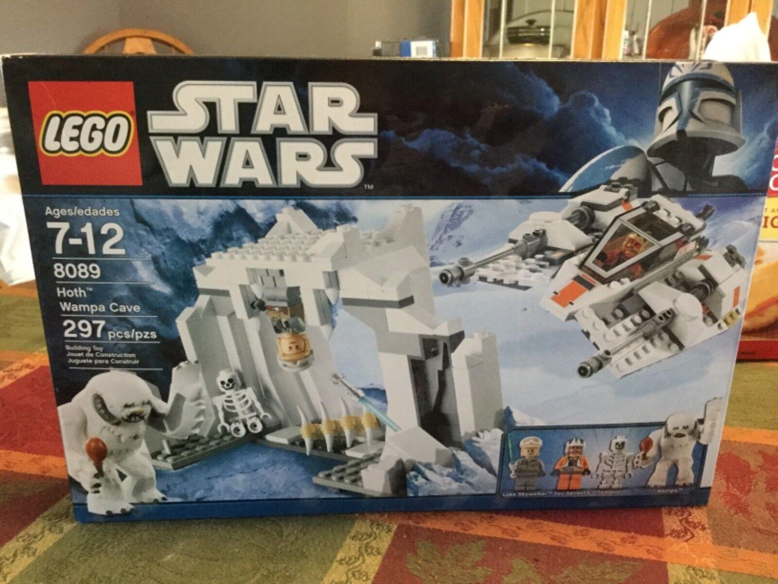 totalmente Nuevo  Sellado de fábrica  Lego Star Wars 8089 Hoth Wampa Cave