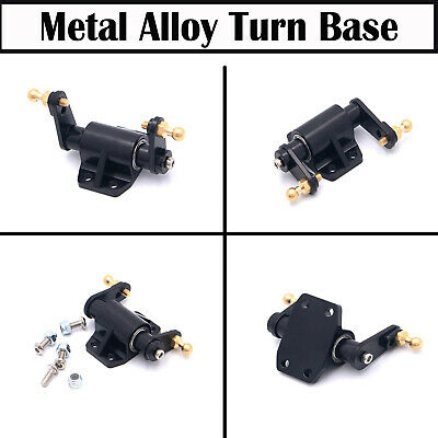 Metal Alloy Turn Base for 1//14 Tamiya Tow Drag Trailer Man Scania Upgraded Parts