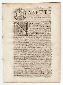 1677-July-17-Original-French-Gazette-with-news-from-Europe
