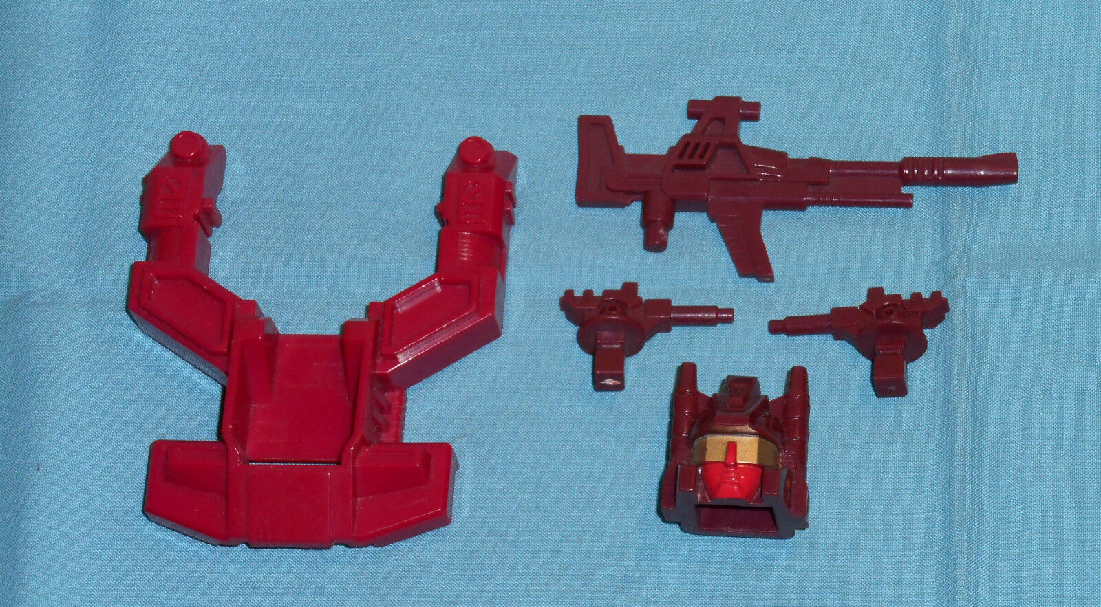 G1 Transformers COMPUTRON PARTS WEAPONS LOT chest shield head gun cannons