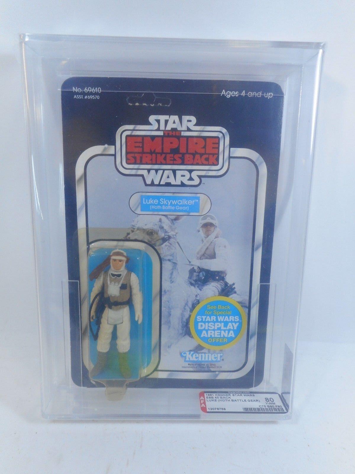 barato Retro Retro Retro Estrella Wars Imperio Contraataca Luke Hoth Sellado 45 DEBUT Acción Figura autoridad 80 y-casi nuevo KENNER 1981  el estilo clásico