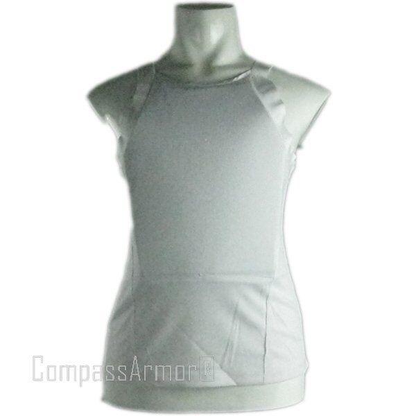 Ultra Thin Bulletproof T-shirt Vest Body Armor made with Kevlar NIJ Level IIIA
