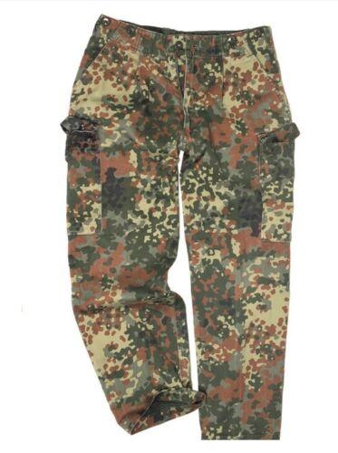 Bundeswehr Flecktarn Feldhose Tropen Hose Heisswetter Vektorenschutz Camouflage