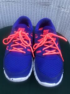 on sale 49d65 dbadc Image is loading Men-039-s-Nike-Free-Run-2-Royal-