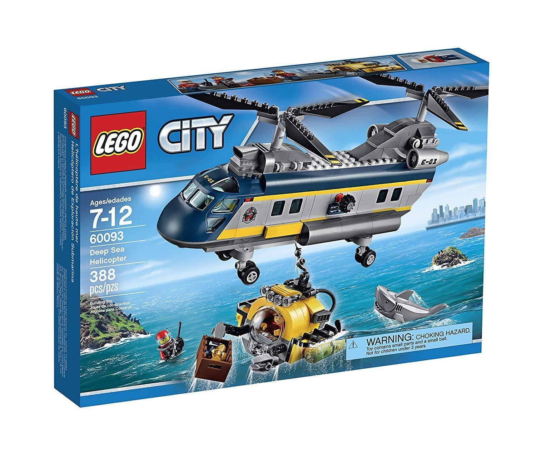 LEGO CITY 60093 Deep Sea Elicottero Nuovo di Zecca GRATIS UK P & P