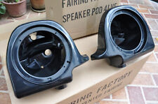 "6.5"" Speaker Pods Boxes For Harley Davidson 97-13 Touring Vented Fairing Lower"