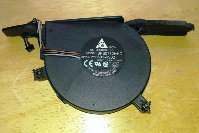 "Apple iMac 20/"" COOLING FAN DC 12V 0.45A BRUSHLESS BFB0712HHD 603-6924"