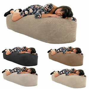 5Ft-150cm-JUMBO-CORD-Giant-SOFA-BED-Beanbag-Chair-Gilda-Bean-Bags