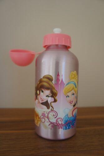 Trinkflasche Disney Princess Aluminium Alu 500ml Cinderella Schneewittchen