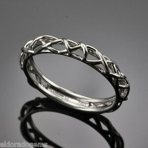 HEARTS-ON-FIRE-BROCADE-FILIGREE-WEDDING-BAND-18K-WHITE-GOLD-RING-SIZE-US6-5