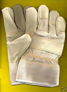12-Paar-Polsterlederhandschuhe-Gr-10-5-Mercedes-hell