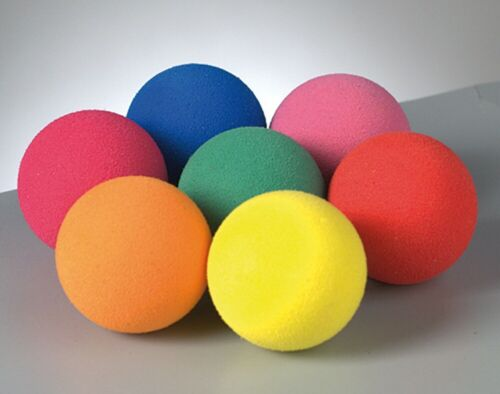 4 Assorted 3.5cm Firm Foam Balls for Craft ProjectsFoam Craft Shapes
